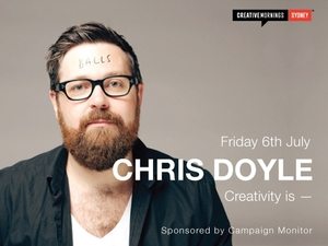 Sydney CreativeMornings | Chris Doyle - Interbrand