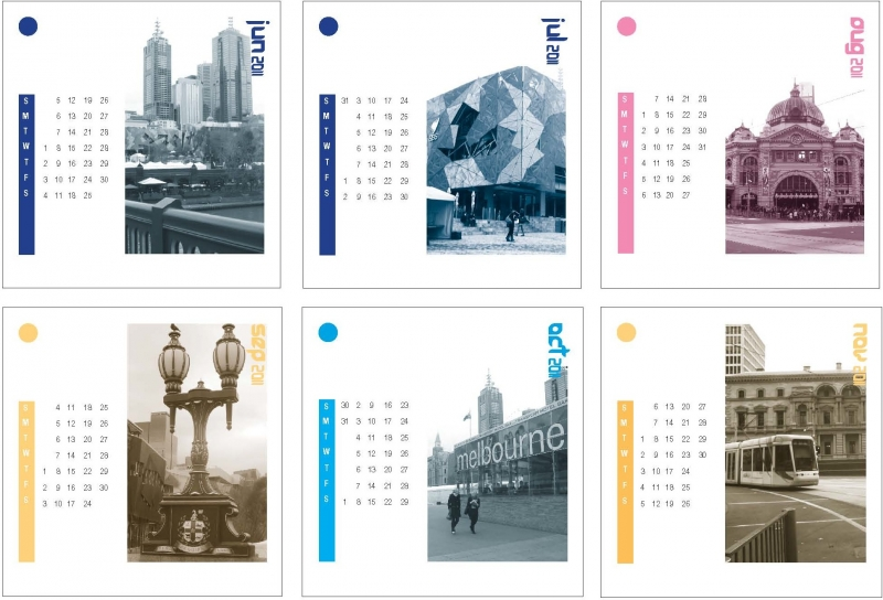 Creative Desk-Calendar Melbourne - Neerja Choahan Portfolio - The Loop