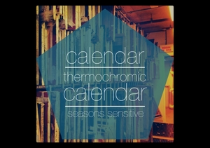 Thermocromatic Calendar