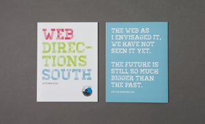 WEB DIRECTIONS SOUTH CONFERENCE COLLATERAL