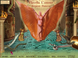 website design and development for Flavella L'amour