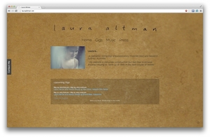 Laura Altman Homepage