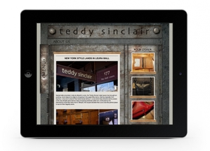 WEBSITE DESIGN CONCEPTS - TEDDY MOCK SITE