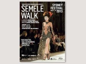 QVB Signage (Semele Walk, Sydney Festival 2013)