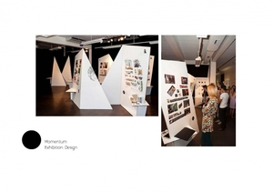 MOMENTUM exhibition design Design Centre Enmore- Interior Design&DEcoration 2012