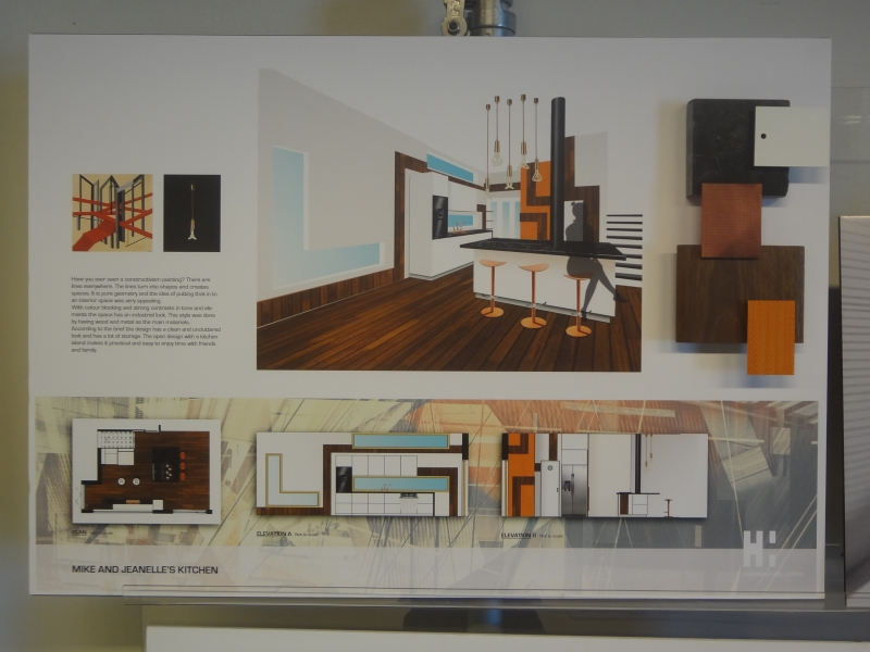 Kitchen Design Project Hannah Hallgren Portfolio The Loop