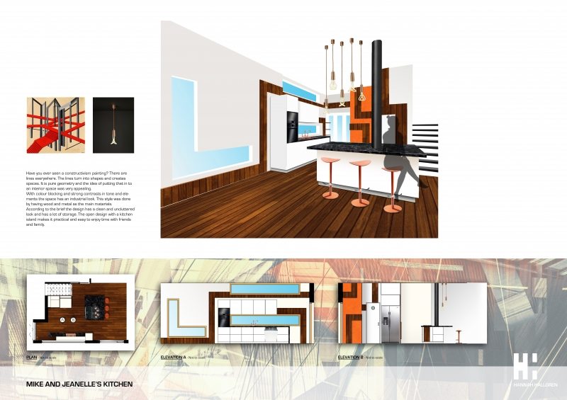 Exceptionnel Kitchen Design Portfolio Interesting Kitchen Design Project Hannah Hallgren  Portfolio The Loop Inspiration Design