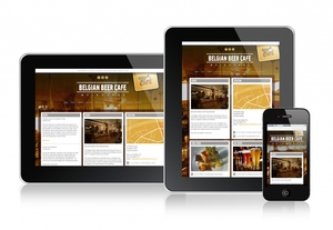 Belgian Beer Cafe Melbourne Responsive Website