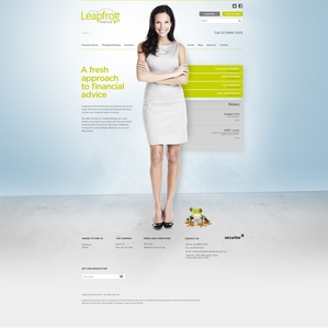 FInancial Advisor Firm Website Redesign