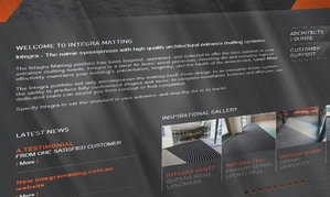 Integra Matting Website
