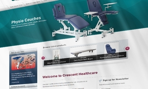 CRESCENT HEALTHCARE WEBSITE