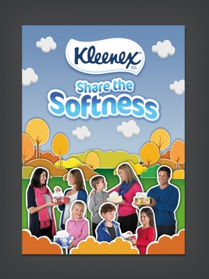 Kleenex Share the Softness 2012