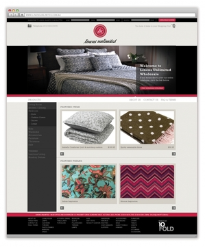 Linens Unlimited Website