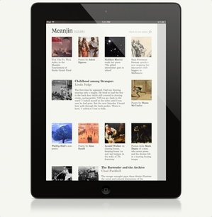 Meanjin iPad app