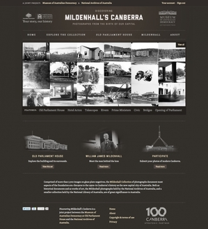 Discovering Mildenhall's Canberra