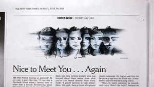 New York Times Editorial Illustrations