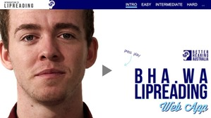 Better Hearing Lipreading Website