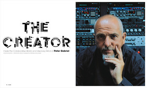 Peter Gabriel Cover Story