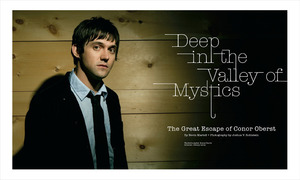 Conor Oberst Cover Story