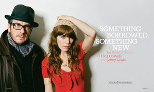 Elvis Costello & Jenny Lewis Cover Story