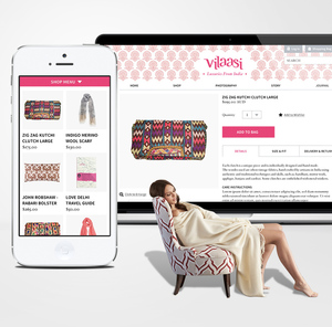 Vilaasi Responsive E-commerce Website