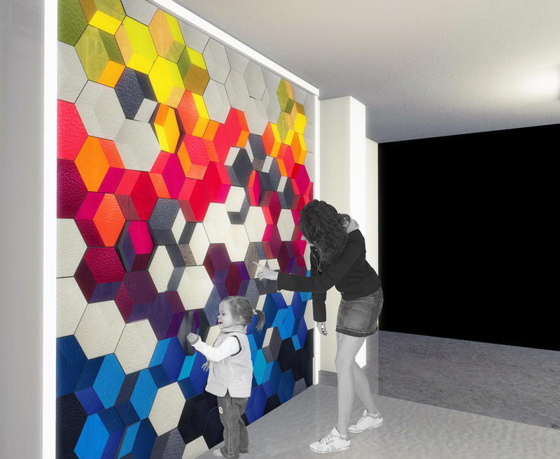 Signature Floorconcept Interactive Wall Installation