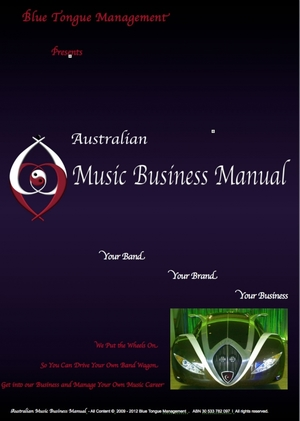 Australian Music Business Manual