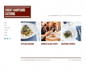 Chicky Hampshire Catering