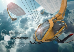 "Project ""Dream of flying"" The air transportation 2031 - Sky Voyage"