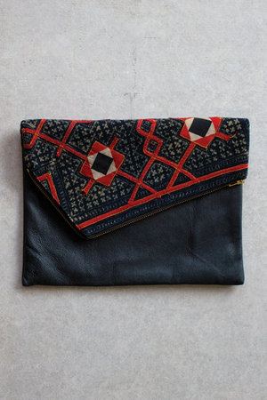 The Fortynine Studio + Eastern Weft 'Harriet' clutch