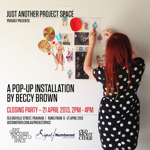 Beccy Brown Installation