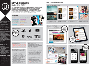 Urban Walkabout Media Kit