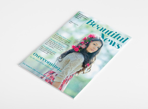 Beautiful News Magazine - Rebrand Masthead