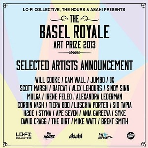 Finalist in the Lo-Fi Collective, Basel Royale Art Prize 2013