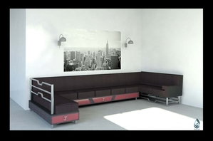 J's Couch- A customized sofa with storage