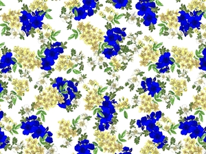 FLORAL PRINTS, by elly&eve