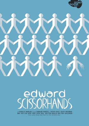 Edward Scissorhands theater poster
