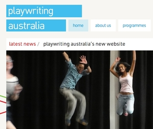 Playwriting Australia Website