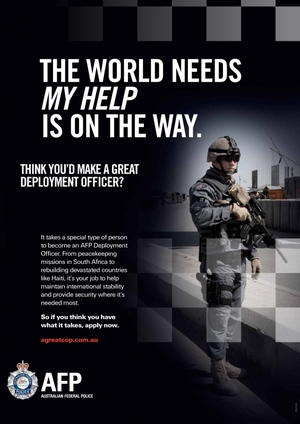 Australian Federal Police Recruitment Campaign