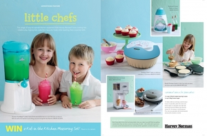 HARVEY NORMAN 4P LITTLE CHEF CREATIVE.