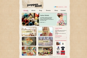 Peppermint Magazine Website