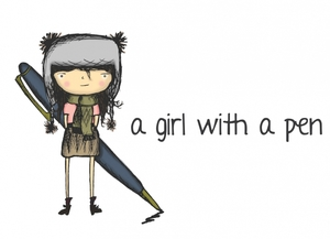 A Girl With a Pen