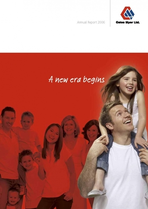 Coles Group Limited Annual Report 2007