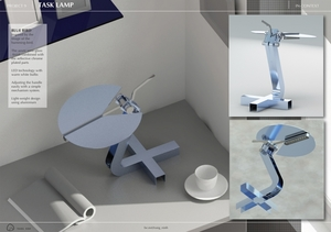BLUE BIRD Task Lamp