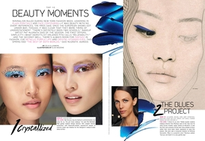 style.com magazine beauty trends