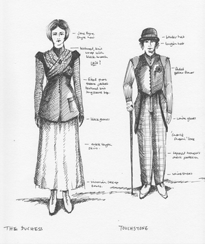 Costume Design Sketches