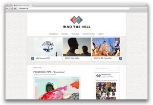 WhoTheHell.net redesign and branding