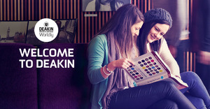 DEAKIN UNIVERSITY. CHOOSE YOUR PREFERENCES MICROSITE.