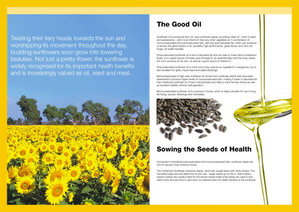 Sunflower Oil brochure