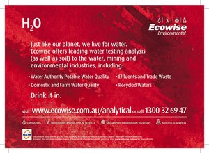 Ecowise Environmental Analysis Press Ad